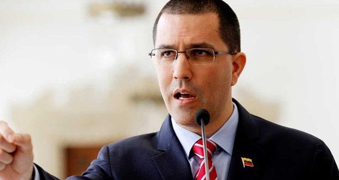 Canciller Arreaza: «No tiene caso creer en diplomacia colombiana»