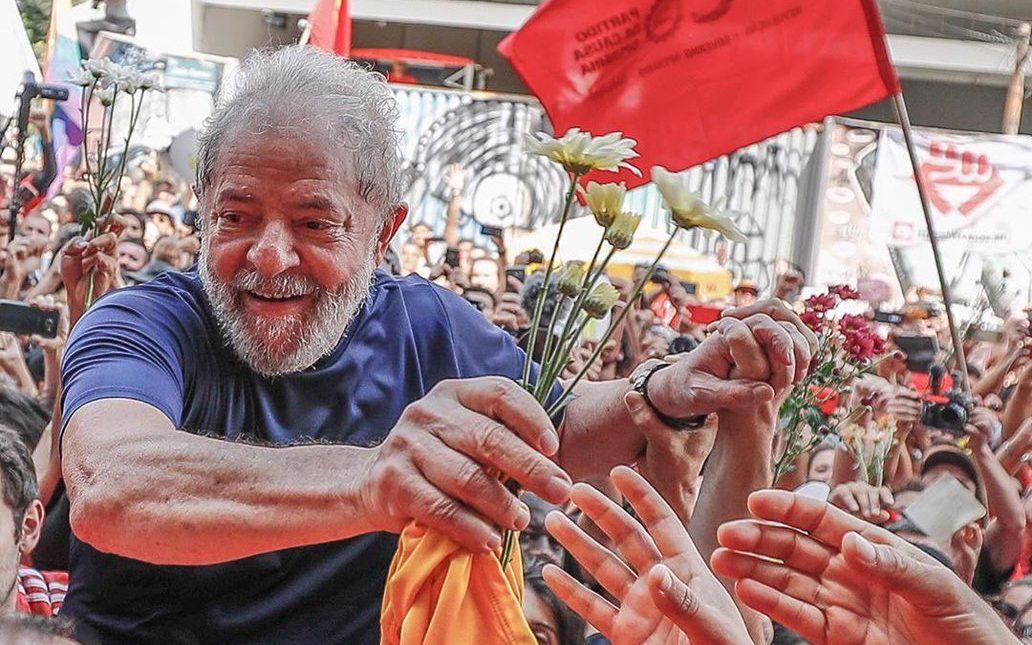 Justicia de Brasil ordenó salida de prisión de Lula Da Silva