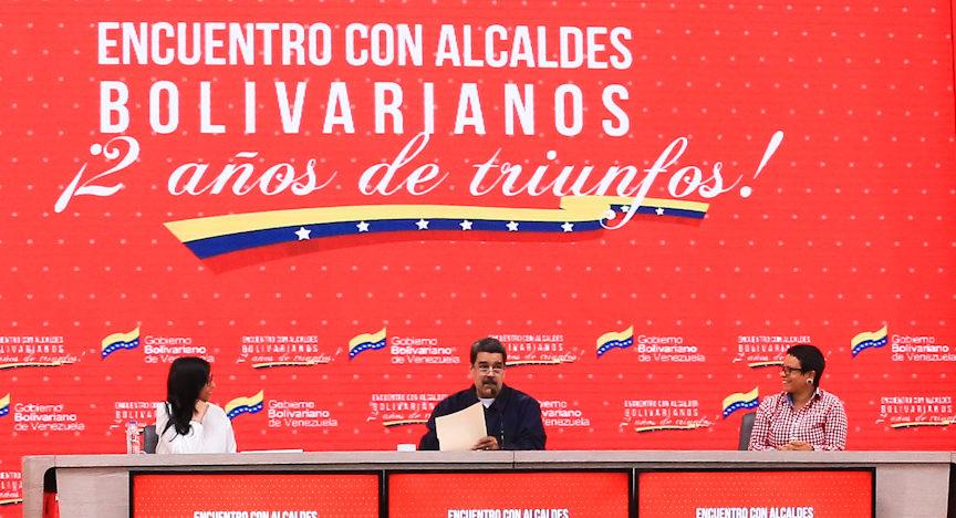 Primer mandatario anunció creación de Consejo Bolivariano de las Alcaldías