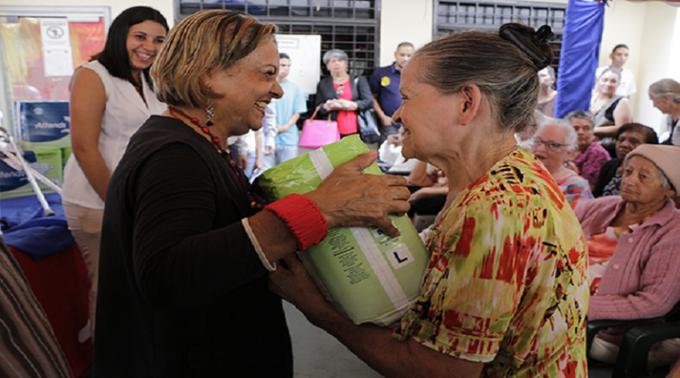 Más de un millón de adultos mayores beneficiados con Misión Amor Mayor