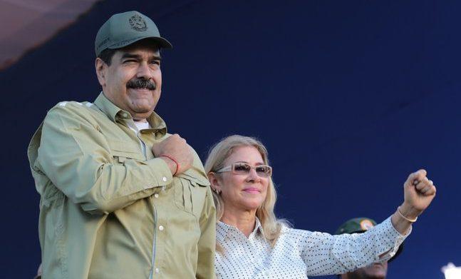 Pareja presidencial envió mensaje de paz y amor al pueblo venezolano