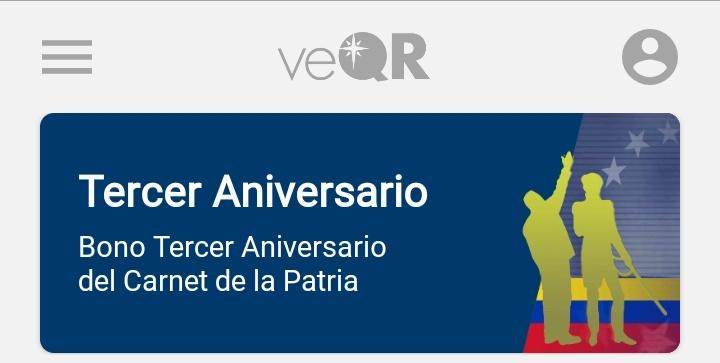 Inicia entrega del bono Tercer Aniversario del Carnet de la Patria