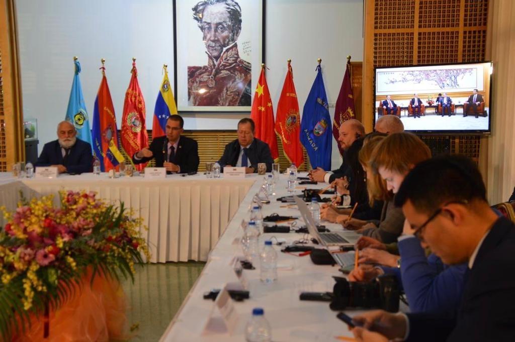 China y Venezuela analizan desafíos de América Latina y el Caribe