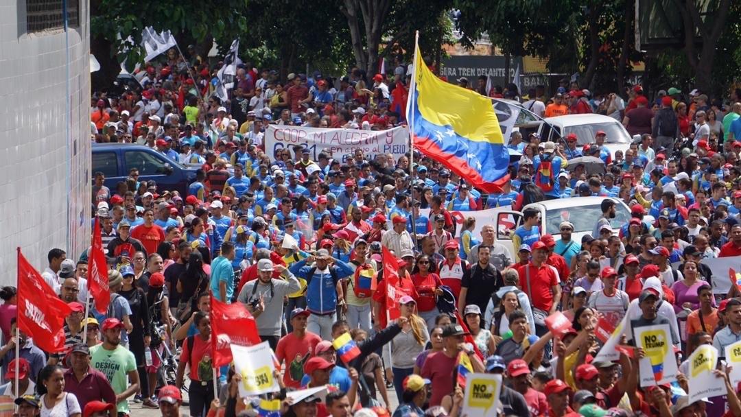 Gran movilización revolucionaria se realizará en Caracas este 23E