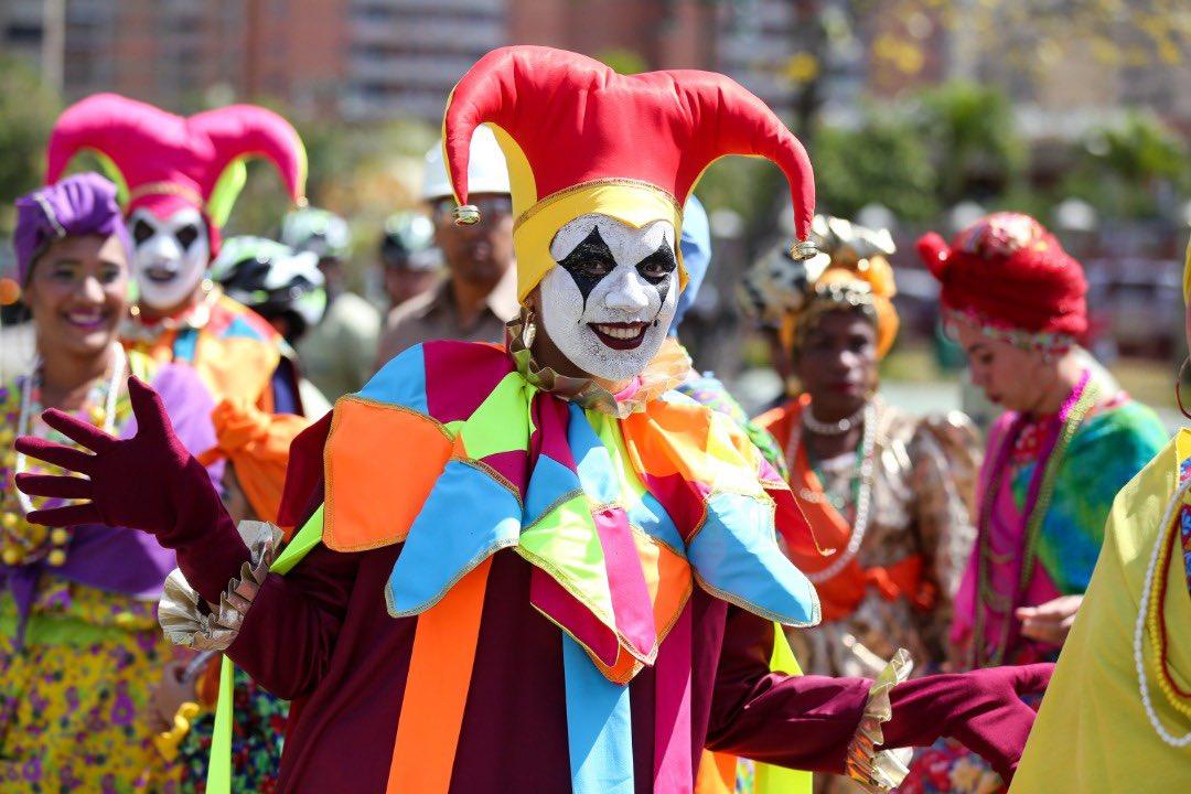 Presidente Maduro destacó colorido y participación popular en Carnavales 2020