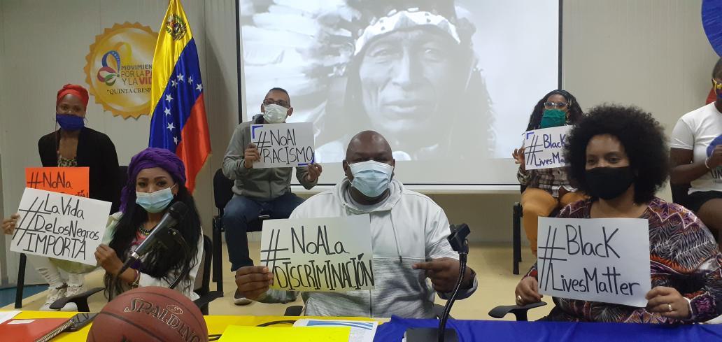 Movimiento por la Paz y la Vida inició campaña contra el racismo en el mundo