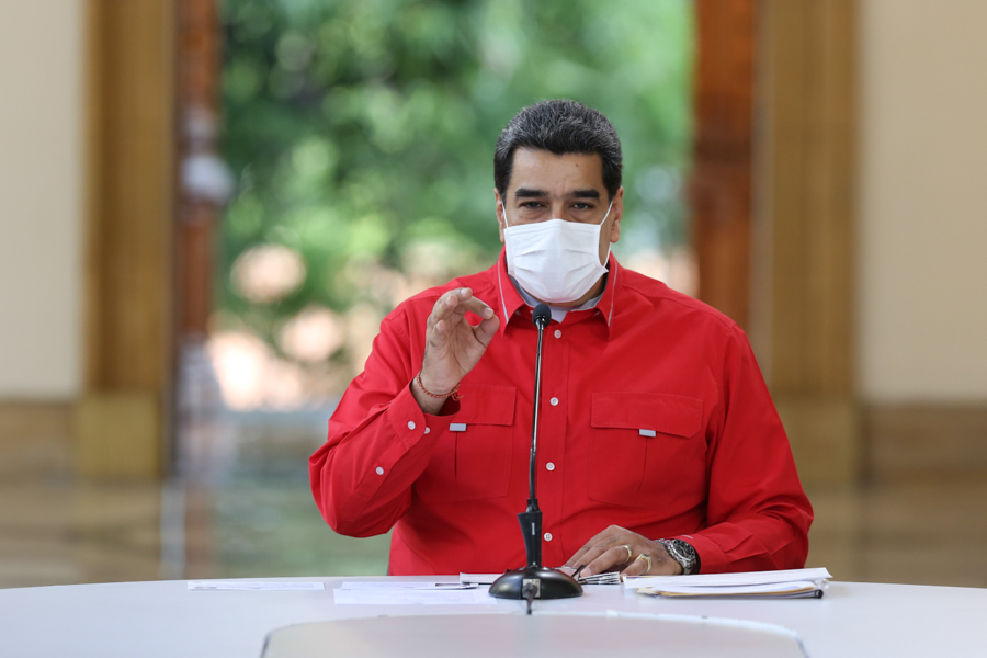 Presidente Maduro destaca gran esfuerzo de coordinación nacional ante Covid-19