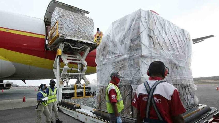 Octavo cargamento de fármacos proveniente de Rusia arribó a Maiquetía