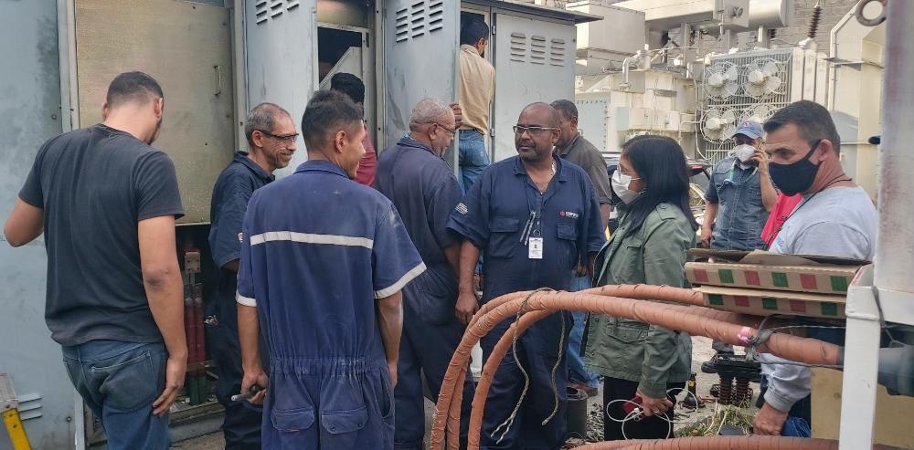 Trabajadores de Corpoelec rescataron de nuevo fluido eléctrico nacional