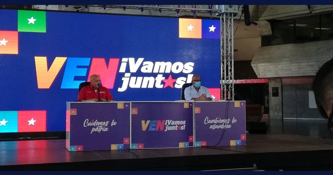 Gran Polo Patriótico Simón Bolívar alerta sobre planes extranjeros para generar violencia en el país