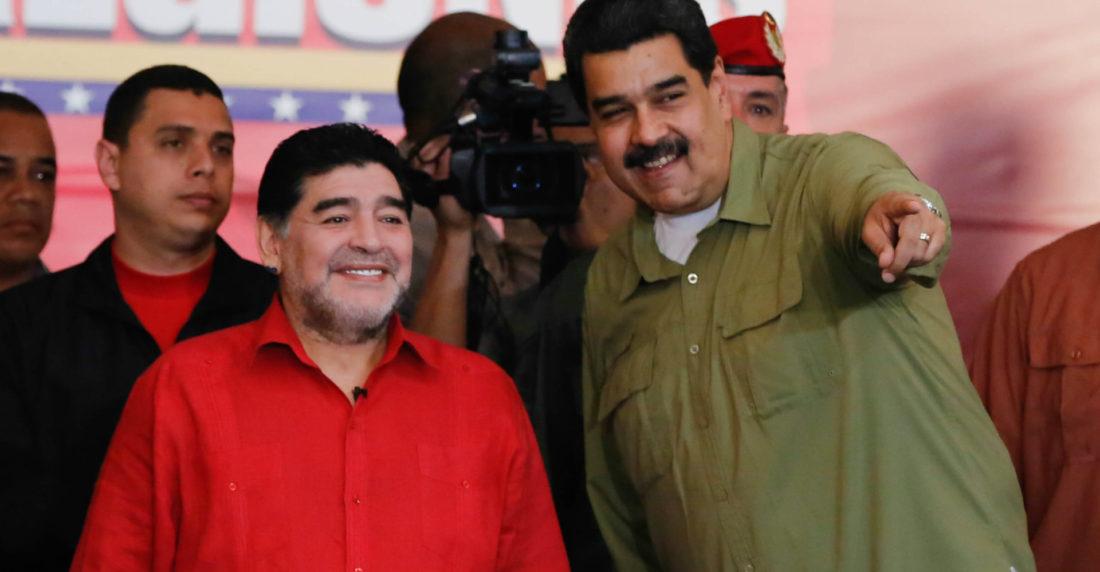 Presidente Maduro lamentó fallecimiento de Diego Armando Maradona