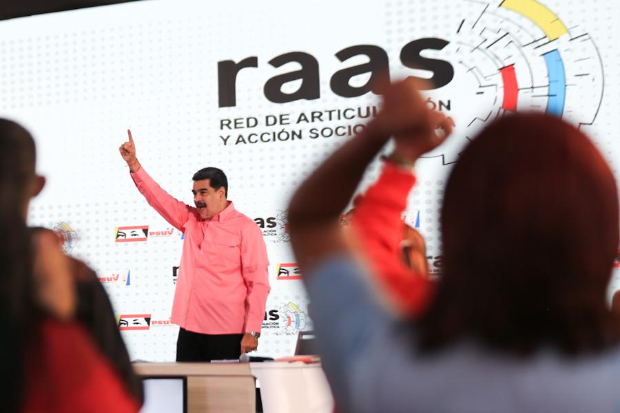 Presidente del PSUV pidió fortalecer método del 1X10 para elecciones del 6D