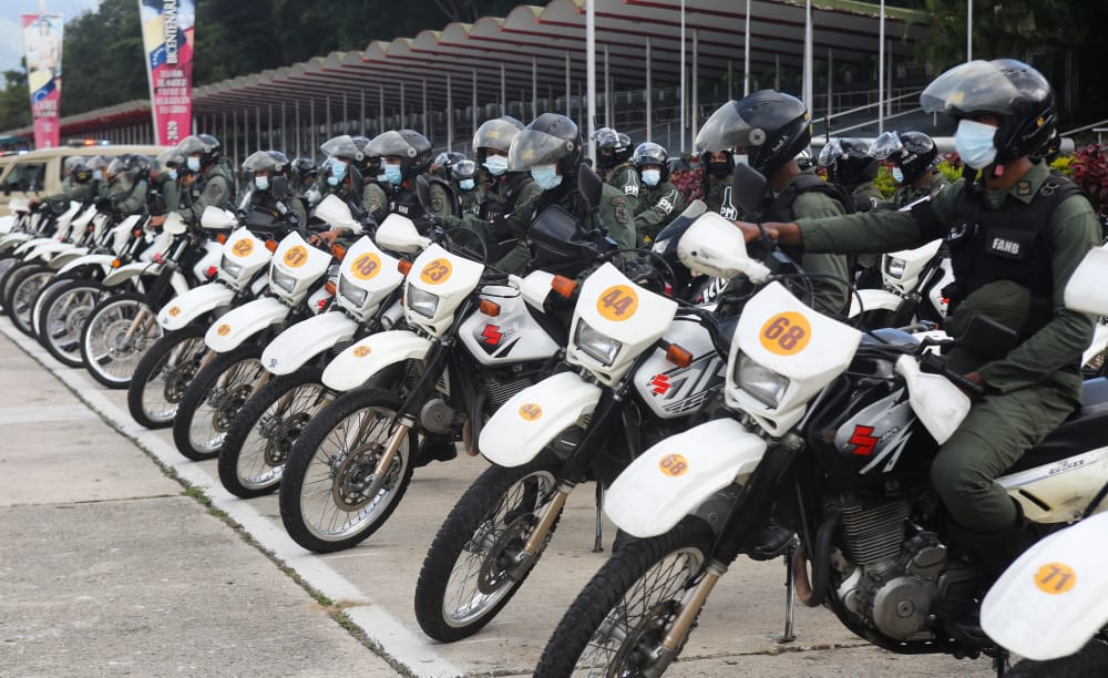 Más de 250 mil efectivos de la FANB se despliegan en todo el territorio nacional rumbo al 6D