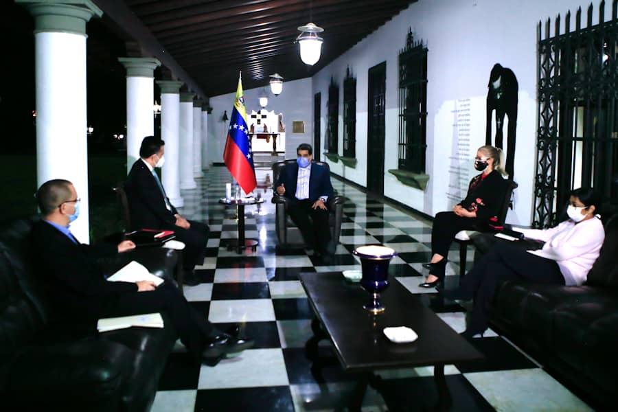 Presidente de la República sostuvo encuentro con Secretario del ALBA-TCP