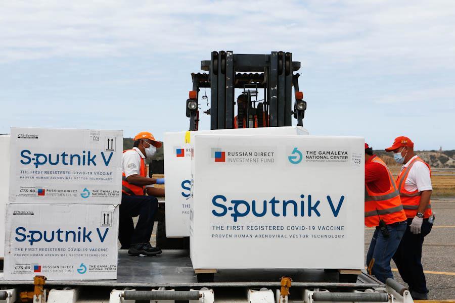 50 mil nuevas dosis de vacunas Sputnik-V llegaron al país
