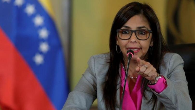 Vicepresidenta Delcy Rodríguez repudió señalamientos del gobierno colombiano
