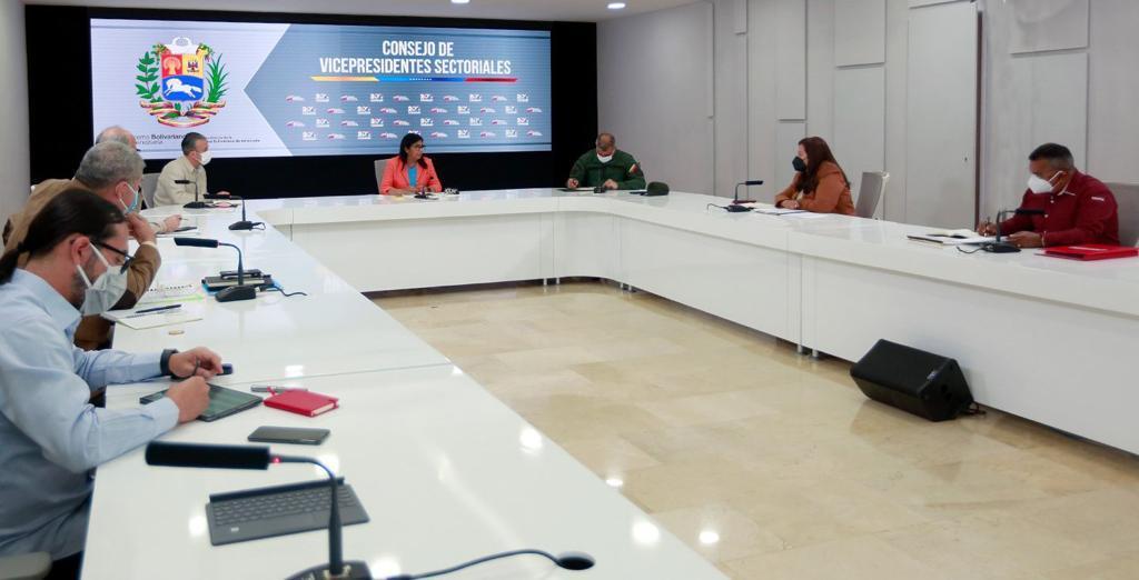 Consejo de Vicepresidentes Sectoriales evaluó políticas gubernamentales para protección del pueblo