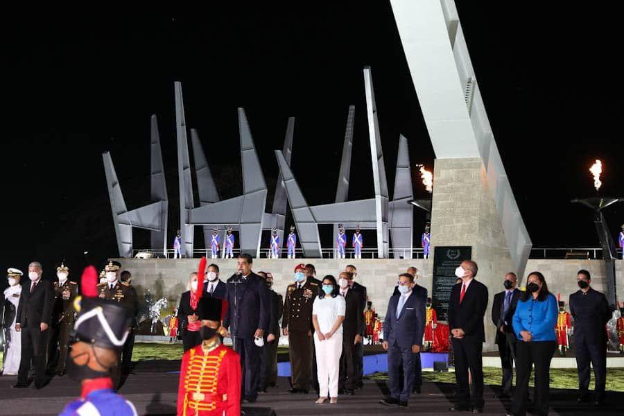 Presidente Maduro inauguró obras bicentenarias en Campo de Carabobo