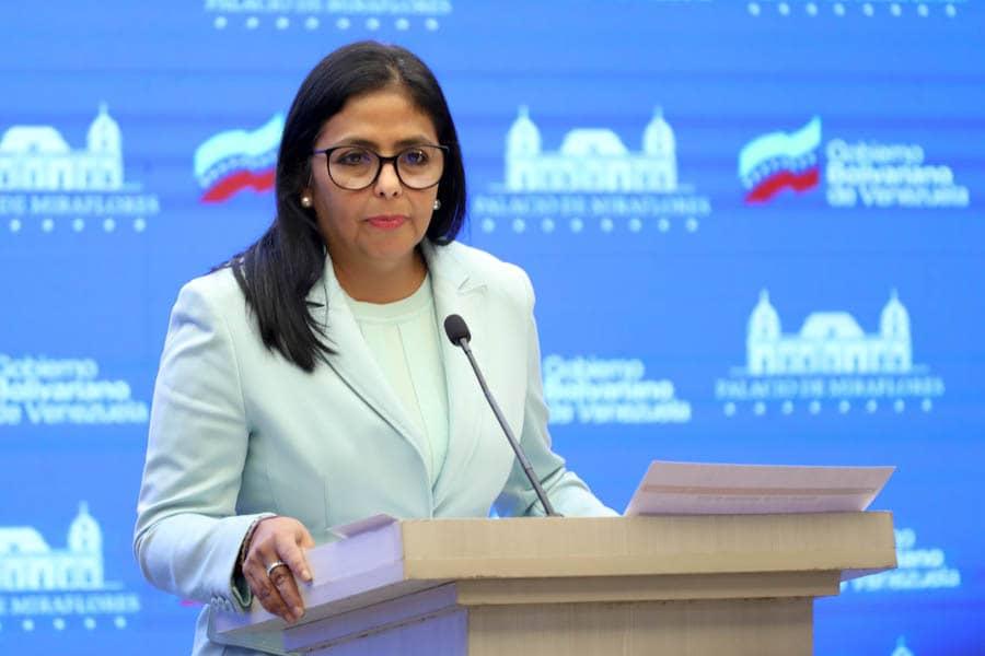 Vicepresidenta Ejecutiva condenó ataques desde EEUU contra el Banco de Venezuela
