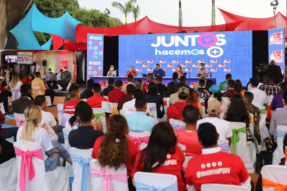 Presidente Maduro destacó logros de la JPSUV en 13 años de luchas